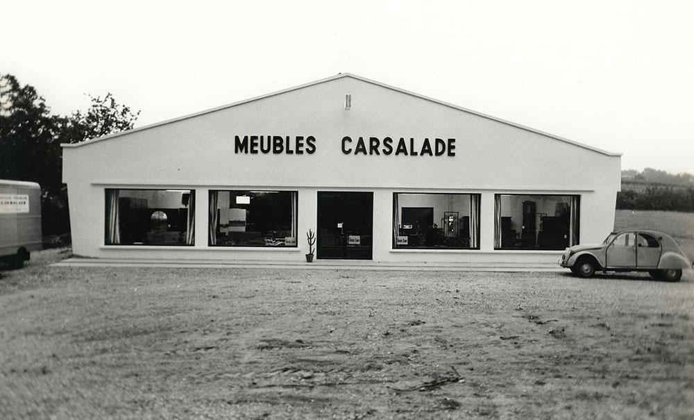 Création du magasin «MEUBLES» Carsalade